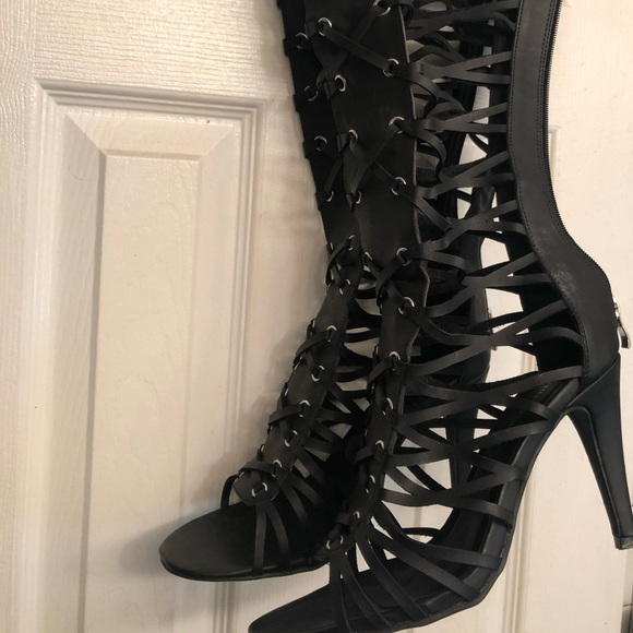 e8dd9f31373 Ashley Stewart Shoes - Ashley Stewart Thigh High Boots